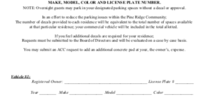 Commercial Vehicle Registration Form